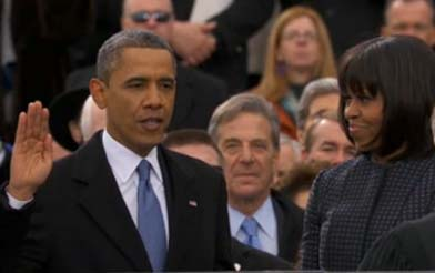 Inauguration: Barack Obama calls on Americans to unite